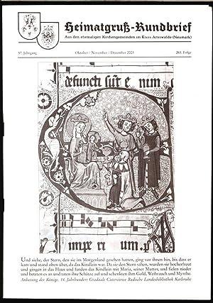 Die Messianischaen Weißsagungen, in: HEIMATGRUß-RUNDBRIEF, Oktober-November-Dezember 2003.: Arnswalder Heimatkreis [Hrsg.]: