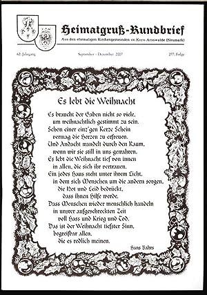Ostbrandenburg Märkisches Land jenseits, in: HEIMATGRUß-RUNDBRIEF, September-Dezember: Arnswalder Heimatkreis [Hrsg.]: