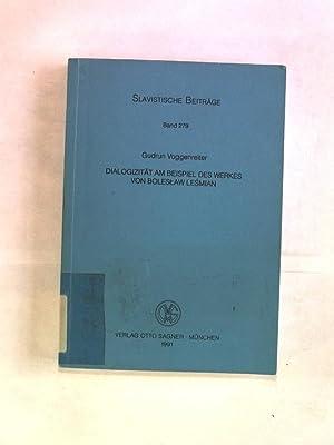 Dialogizität am Beispiel des Werkes von Boleslaw: Voggenreiter, Gudrun: