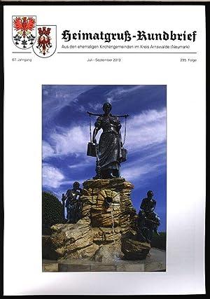 Sonntagsblatt für den Kirchenkreis Arnswalde, in: HEIMATGRUß-RUNDBRIEF,: Arnswalder Heimatkreis [Hrsg.]: