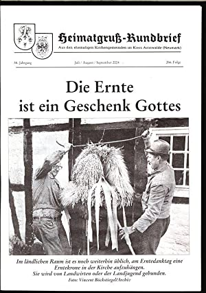 Das Leben bleibt Rätselhaft, in: HEIMATGRUß-RUNDBRIEF, Juni-August-September: Arnswalder Heimatkreis [Hrsg.]: