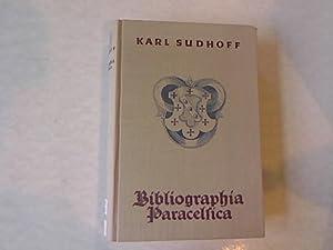 Bibliographia Paracelsica: Besprechung der unter Hohenheims Namen 1527-1893 erschienenen ...