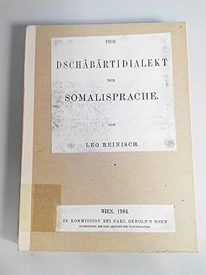 Der Dschäbärtidialekt der Somalisprache (Photokopie).: Reinisch, Leo: