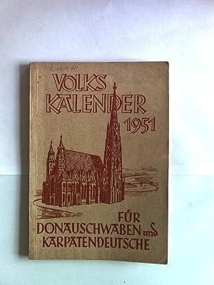 Volkskalender für Donauschwaben und Karpatendeutsche 1951.