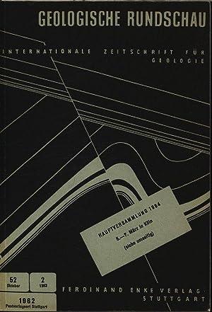 Das Sockelstockwerk der Orogene in Ostafrika, in: GEOLOGISCHE RUNDSCHAU Heft 2, Bd. 52. ...