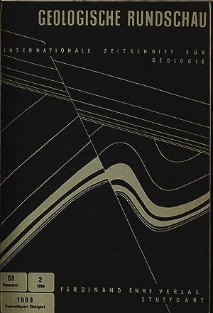 Stratigraphie und Tektonik der Schupppenzone Elbas, in: GEOLOGISCHE RUNDSCHAU Heft 2, Bd. 53. ...
