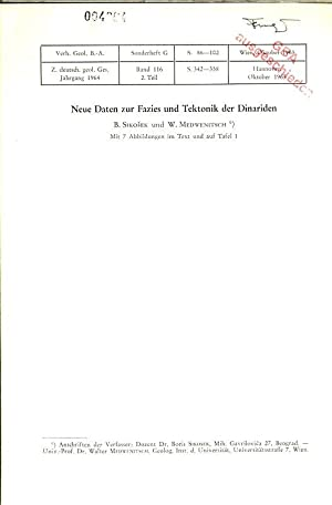 Neue Daten zur Fazies und Tektonik der: Sikosek, B. und