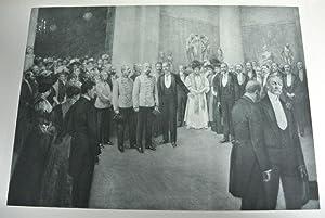 Eröffnung der Jahres-Ausstellung im Künstlerhause, am 16. März 1907, von Gustav A. ...