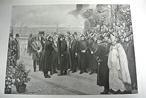 Eröffnung des Frei- und Winterhafens in der Freudenau, am 28. Oktober 1902, von Karl M. ...