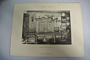 Eschener Wäscheschrank, Zimmer des Herrn Prof. W. Styowski (Tafel 48). aus: DANZIGER BAROCK. ...
