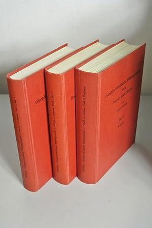 Geophysikalische Bibliographie von Nord- und Ostsee. Teil I und II (in drei Büchern, vollst&...