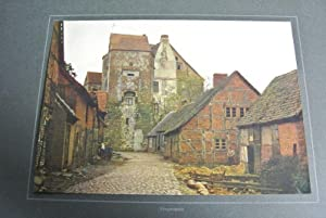 Freyenstein (Colorierte Bildtafel, Nr. 39). aus: Die Mark Brandenburg in Farbenphotograhie, hrsg. ...