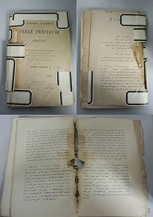 Ad-Dourra Al-Fakhira. La Perle Precieuse de Ghazali. Traite d'Eschatologie Musulmane publie d&...