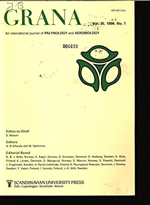 GRANA, An international journal of Palynology and