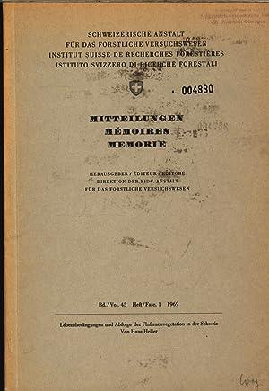 Lebensbedingungen und Abfolge der Flußauenvegetation in der: Hans, Heller:
