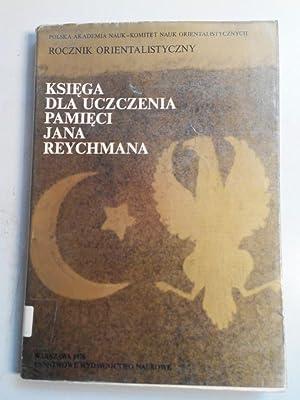 ROCZNIK ORIENTALISTYCZNY, Tom 38. Ksiega dla uczczenia: Polska Akademia Nauk