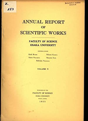 Osaka University 44 Inch Cyclotron, in: ANNUAL REPORT OF SCIENTIFIC WORKS, Volume 3.