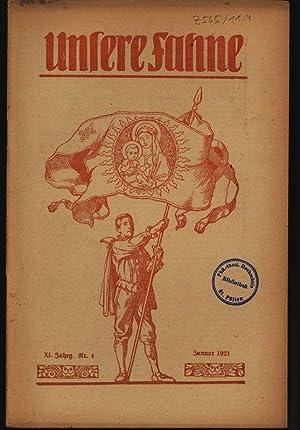Um Opferaltar, : UNSERE FAHNE, Januar 1921.