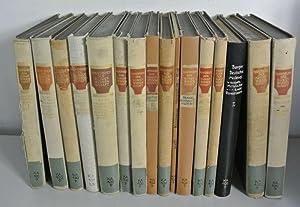HANDBUCH DER KUNSTWISSENSCHAFT, Konvolut von 16 Büchern.: Burger, Fritz [Hrsg.] und A. E. [...