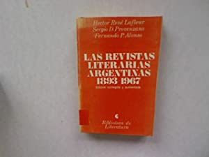 Las revistas literarias argentinas, 1893-1967. Biblioteca de: Lafleur, Hector René,