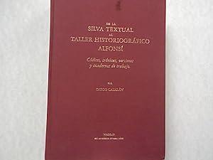 De la Silva Textual al Taller Historiografico: Catalán, Diego: