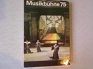 Musikbühne 75: Probleme und Informationen.