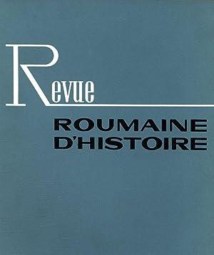 Sur l'historisme marxiste. REVUE ROUMAINE D'HISTOIRE, 1975,: LIVEANU, VASILE: