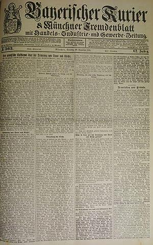 Revolution und Entente, in: BAYERISCHER KURIER, 29. Dez. 1918 (Nr. 363, 62. Jg.). Münchner ...