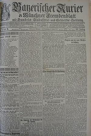 Kunst und Revolution (II), in: BAYERISCHER KURIER, 1./2. Jan. 1919 (Nr. 1/2, 63. Jg.). M&...