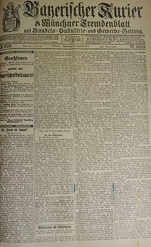 Militarismus und Offizierkorps (I), in: BAYERISCHER KURIER, 12. Dez. 1918 (Nr. 345, 62. Jg.). M&...