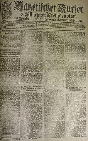 Der Hoffmannsche Erlaß zum Religionsunterricht, in: BAYERISCHER KURIER, 11. Feb. 1919 (Nr. 42...