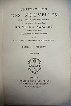L'Heptameron des Nouvelles. De tres haute et tres illustre princesse Marguerite d'...