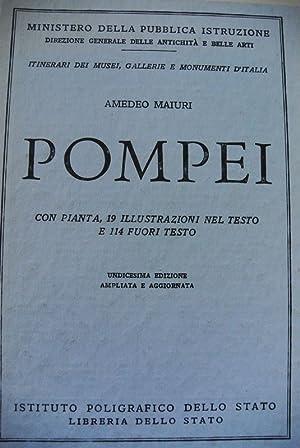 POMPEI con 19 illustrazioni nel testo e: Maiuri, Amedeo: