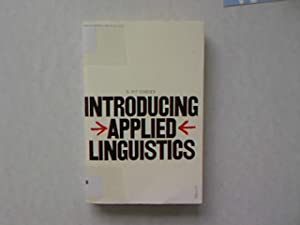 Introducing Applied Linguistics.: Corder, S. Pit: