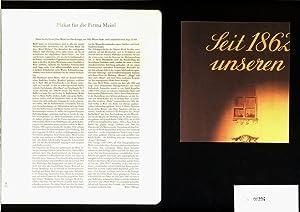 Plakat für die Firma Julius Meinl von