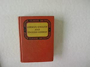 Junior Classic German Dictionary. German-Englisch and English-German.: Wessely, J. E.: