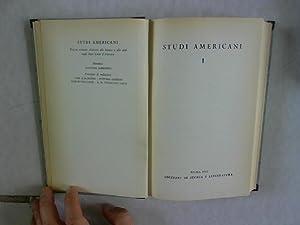 Studi Americani. Rivista annuale dedicata alle lettere: Lombardo, Agostino [Dir.]: