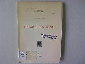 """Le egloghe di Dante. Biblioteca dell """"Archivum: Reggio, Giovanni:"""