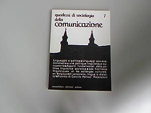 Quaderni di sociologia della comunicazione. Linguaggio e