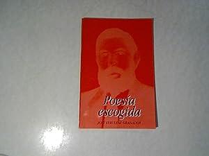Poesia escogida.: Granados, Jose Luis