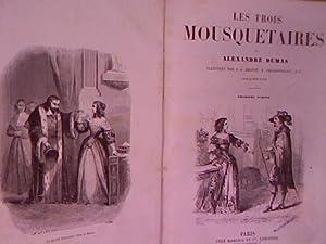 Les trois Mousquetaires. 2 volumes in one: Dumas, Alexandre: