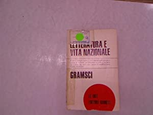 Letteratura e vita nazionale.: Gramsci, Antonio: