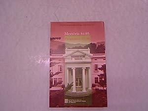 Memoria 84-85. Programa 85-86.: Escola D'administracio publica