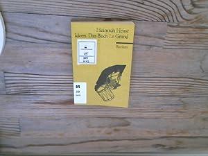 Ideen. Das Buch Le Grand.: Heine, Heinrich: