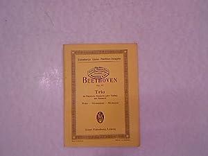 """Trio, B dur, für Pianoforte, Klarinette """"(oder: Betthoven, Ludwig van:"""