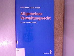 Allgemeines Verwaltungsrecht.