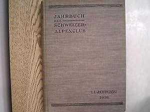 Jahrbuch des Schweizer Alpenclub. 51. Jg. (1916).: Schweizer Alpenclub [Hrsg.]:
