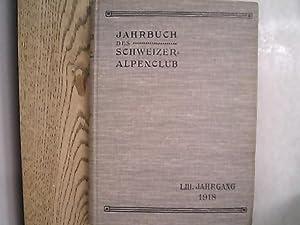 Jahrbuch des Schweizer Alpenclub. 53. Jg. (1918).: Schweizer Alpenclub [Hrsg.]:
