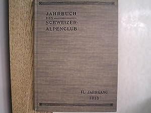 Jahrbuch des Schweizer Alpenclub. 49. Jg. (1913-1914).: Schweizer Alpenclub [Hrsg.]: