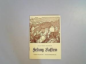 Kleiner Führer Festung Kufstein Heimatmuseum - Heldenfreiorgel: Lippott, Eduard: